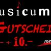 Musicum Gutschein Aktion 100.- + 10.-