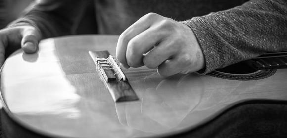 Service für Gitarren, Bässe und Drums