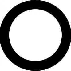 AQUARIAN Porthole PHBK – 5″ SCHWARZ